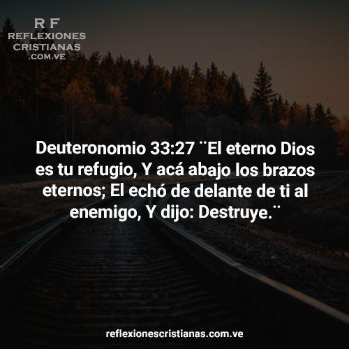 29 de Octubre: Dios es refugio